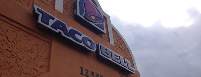 Taco Bell is one of Lunch Run!!!.