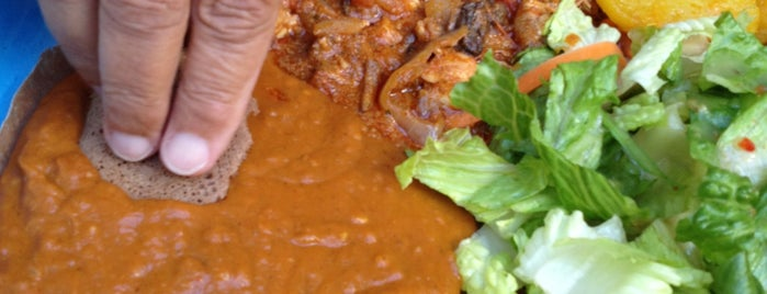 New Eritrea Restaurant & Bar is one of The 15 Best Places for Vegetarian Food in San Francisco.