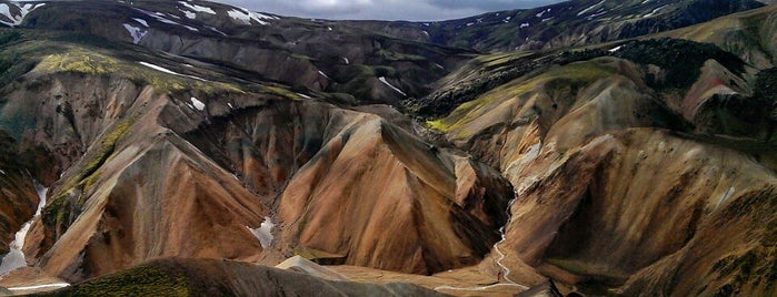 Landmannalaugar is one of Iceland Grand Tour.
