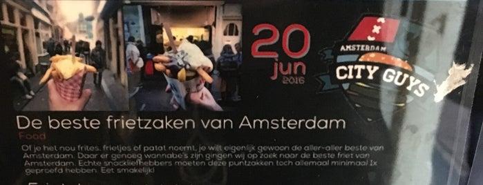 De Frietsteeg is one of Amsterdam.