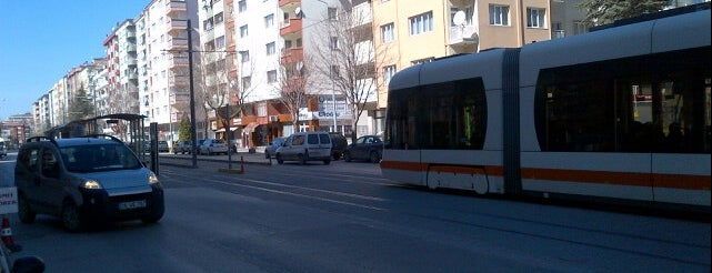 Vişnelik Tramvay Durağı is one of Eskişehir SSK - Osmangazi Tramvay Hattı.