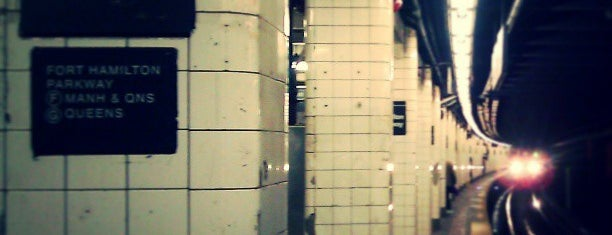 MTA Subway - Fort Hamilton Pkwy (F/G) is one of MTA Subway - F Line.
