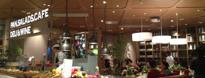 LA LOBROS PAN TABLE CAFE 渋谷ヒカリエ店 is one of 渋谷ヒカリエ・宮益坂.