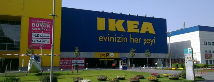 IKEA is one of Check İn.