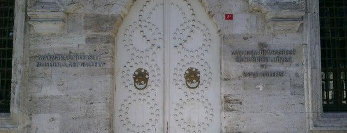 Marmara Üniversitesi Cumhuriyet Müzesi ve Sanat Galerisi is one of İstanbul'daki Müzeler (Museums of Istanbul).