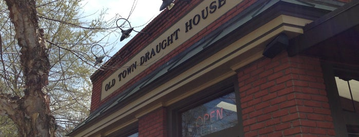 Old Town Draught House is one of College.