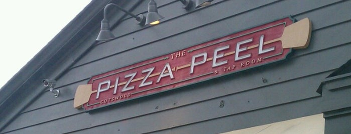 The Pizza Peel and Tap Room is one of The 15 Best Places for Craft Beer in Charlotte.