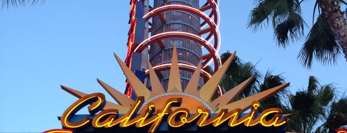 California Screamin' is one of Coaster Credits.