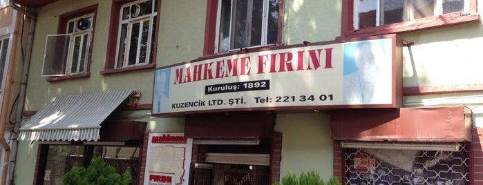 Mahkeme Fırını is one of Mutlaka gidilmeli!.
