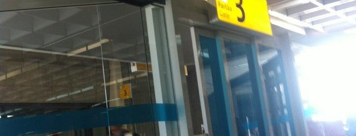 Portão 3 is one of Aeroporto de Guarulhos (GRU Airport).