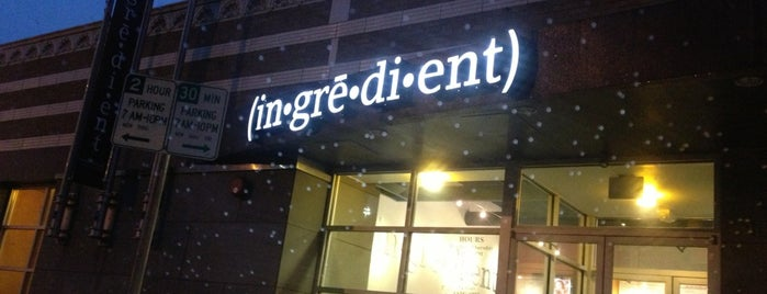 Ingredient is one of KC.