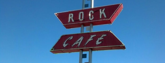 Rock Cafe is one of DINERS DRIVE-INS & DIVES.