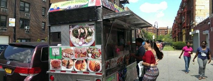Tacos El Dorado is one of The 15 Best Food Trucks in Brooklyn.