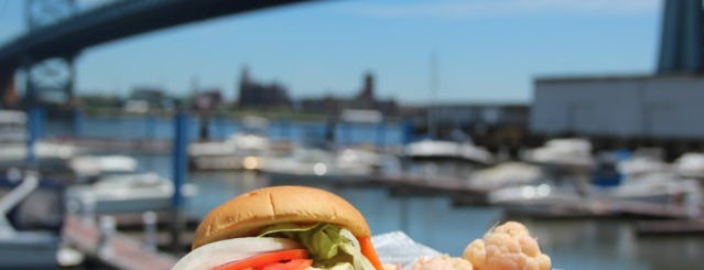 Morgan's Pier is one of Thrillist's Best Day of Your Life: Philadelphia.