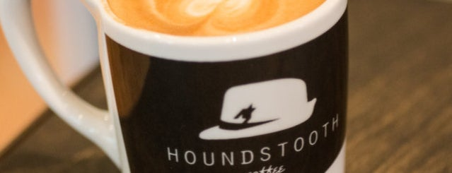 Houndstooth Coffee is one of Austin 2018 Itinerary.