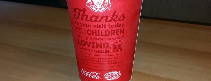 Wendy's is one of Food joints.
