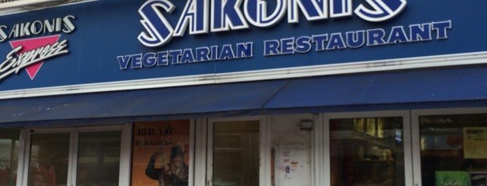 Sakonis is one of 1000 Things To Do In London (pt 2).