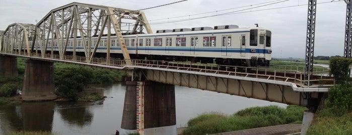 東武野田線 江戸川橋梁 is one of 千葉県と隣県を繋ぐ鉄道橋.