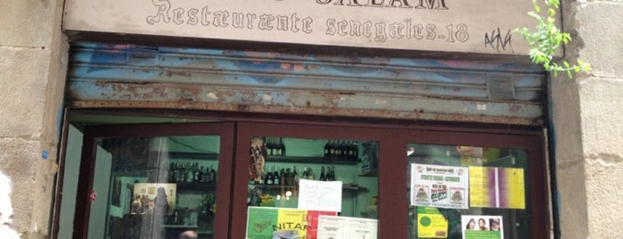 Daru Salam is one of Cheap Eats Barcelona 5-10€.
