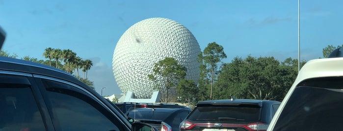 Imagine Parking Lot is one of Walt Disney World - Epcot.