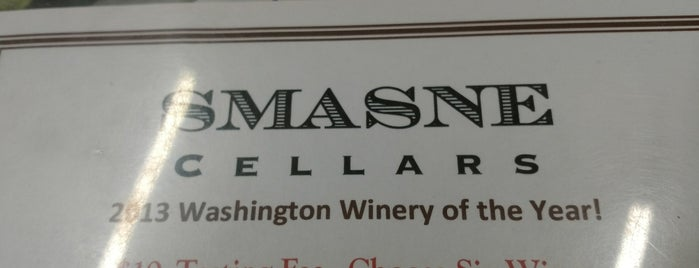 Smasne Cellars is one of Must-visit Nightlife Spots in Woodinville.