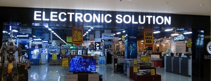 Electronic Solution is one of Mall @ Alam Sutera Directory.