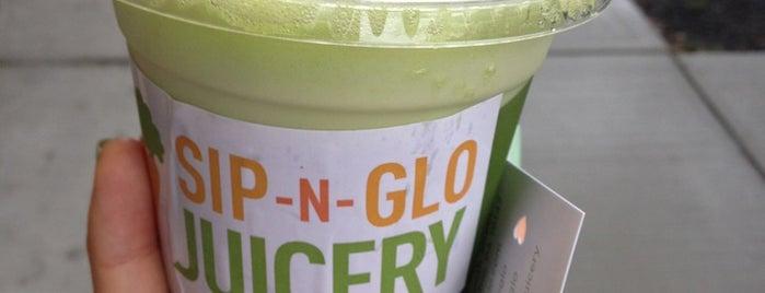 Sip-n-Glo Juicery is one of This Is Fancy: Philadelphia.