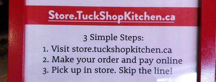 TuckShop Kitchen is one of TO // Brunch.