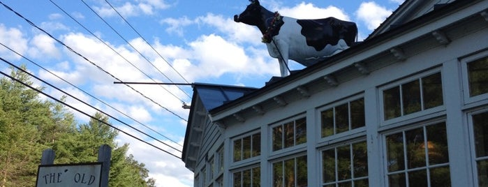 The Old Creamery is one of Western Mass Faves.