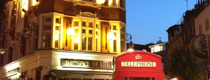 Spice of Life is one of London todos.