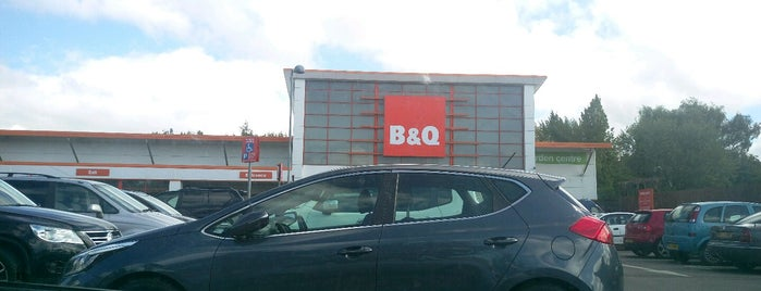 B&Q is one of Where I have been.