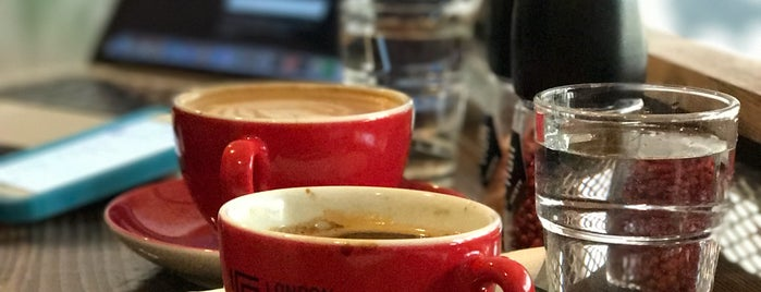 London Coffee Society is one of The 15 Best Places with Good Service in Budapest.