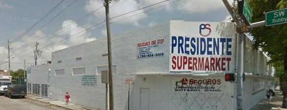 Presidente Supermarket is one of Miami New Times 2013.