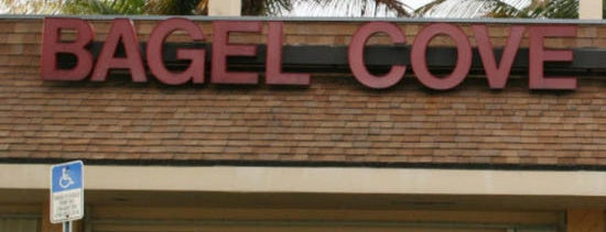 Bagel Cove is one of Miami New Times 2013.
