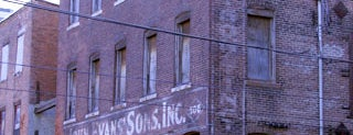 John Evans' Sons Ghost Sign is one of Ghost Signs and Faded Ads.