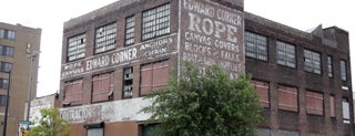 Edward Corner Marine Merchandize Warehouse Ghost Sign is one of Ghost Signs and Faded Ads.
