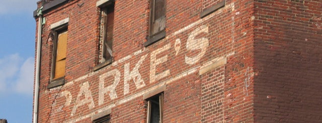 Parke's Coffee / Adolph Fruchter Ghost Sign is one of Ghost Signs and Faded Ads.