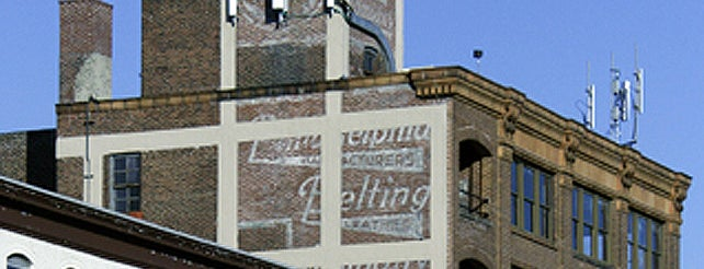 Philadelphia Belting Company Ghost Sign is one of Ghost Signs and Faded Ads.