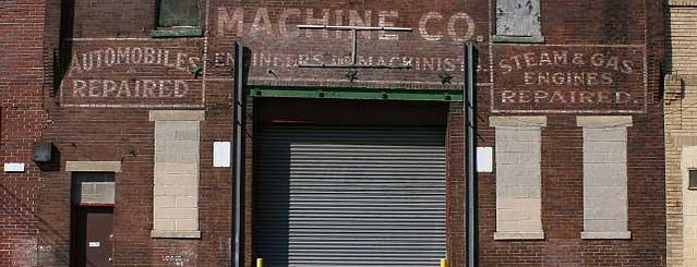 Hope Machine Company Ghost Sign is one of Ghost Signs and Faded Ads.