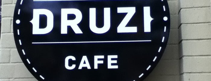 DRUZI cafe & bar is one of Kyiv gastro.