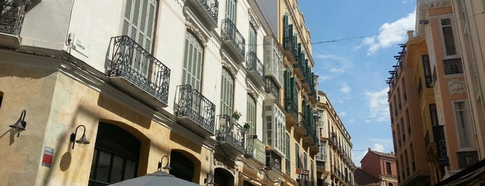 Calle Granada is one of Best places in Málaga, España.