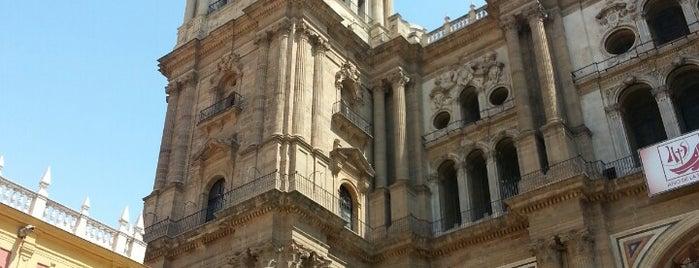 Catedral de Málaga is one of Qué visitar en Málaga.