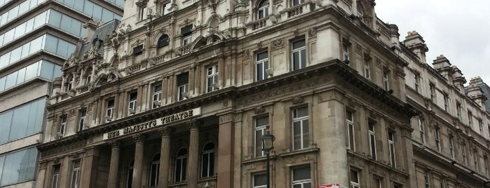 Her Majesty's Theatre is one of Venues London.