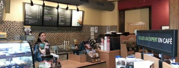 Starbucks is one of M&M Barcelona centre.