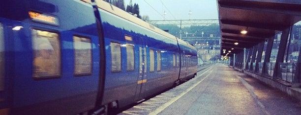 Örnsköldsvik Centralstation is one of Tågstationer - Sverige.