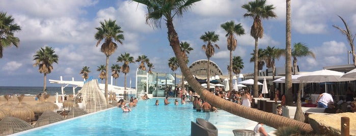 Marina Beach Club is one of Levante y Sur.