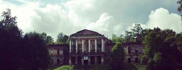Ропшинский дворец is one of Интересное в Питере.