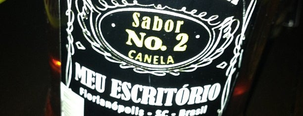 Meu Escritório is one of Floripa: happy hour places (:.