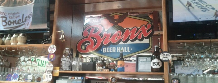 The Bronx Beer Hall is one of NYC grub.