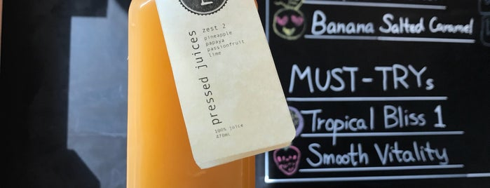 Pressed Juices is one of Central.